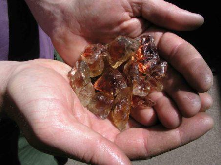 俄勒岡州日光石原石