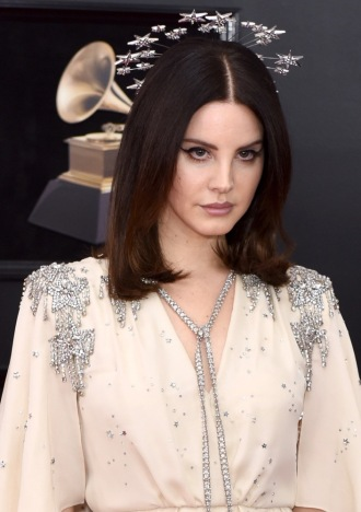 NEW YORK, NY - JANUARY 28: Lana Del Rey attends the 60th Annual GRAMMY Awards - Arrivals at Madison Square Garden on January 28, 2018 in New York City. (Photo by Presley Ann/Patrick McMullan via Getty Images)