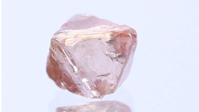3. 粉紅色鑽石原石
