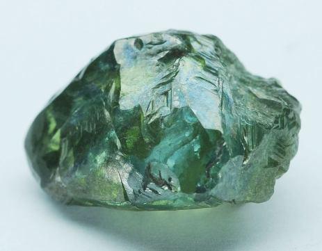 綠色鑽石原石