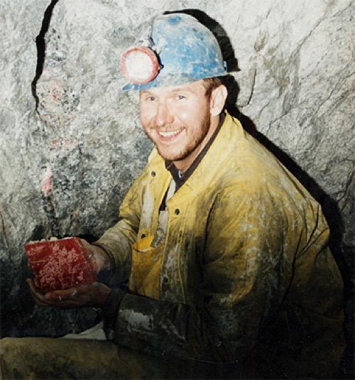 世界最大的寶石級菱錳礦晶體( Alma King )