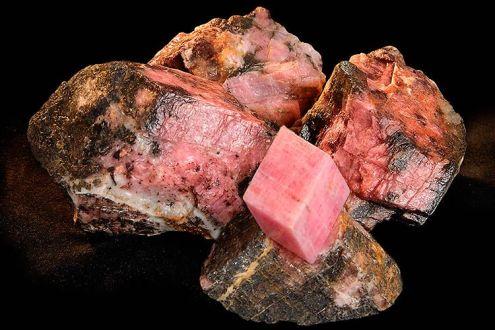 菱錳礦晶體