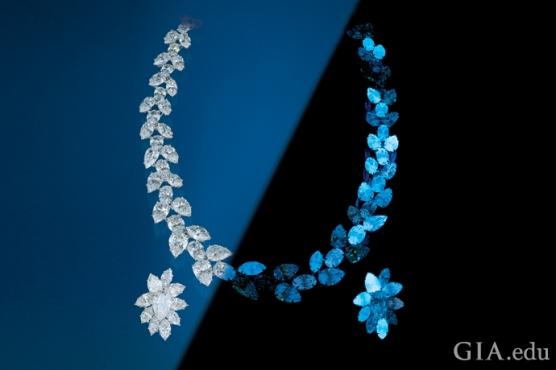 1. 不同鑽石有不同的螢光程度.jpg