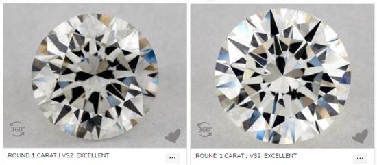 5. 正常光下的J色鑽石- 左_沒有螢光-右_有強螢光.jpg