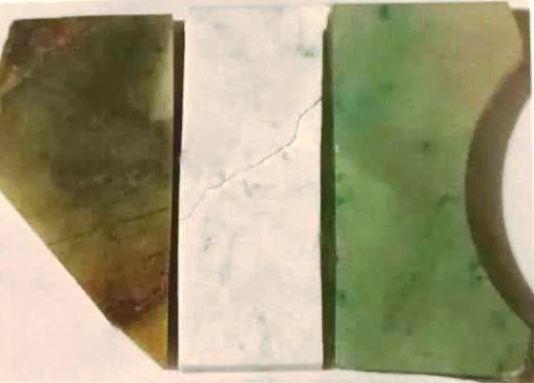 5.翡翠 (左)處理前 (中)漂白後  (右) 染色填充後.jpg